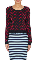 Altuzarra Women's Clifton Wool Jacquard Peplum Sweater