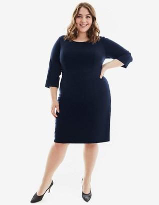 Gravitas Amelia Dress in Navy Blue Size 10-HEM UP
