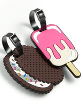 Betsey Johnson Ice Cream Luggage Tag Set, Only at Macy's