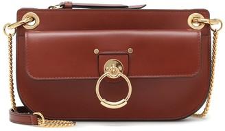 Chloé Tess leather clutch