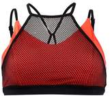 Zobha Red Sports Bra Blondie.