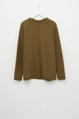 French Connection Plain Slub Long Sleeve T-Shirt