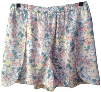Comptoir des Cotonniers Multicolour Silk Skirt for Women