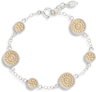 Anna Beck Multi Disc Chain Bracelet