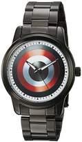 Marvel Men's 'Captain America' Quartz Metal and Alloy Casual Watch