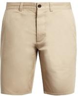 MAISON KITSUNÉ Slim-leg cotton chino shorts