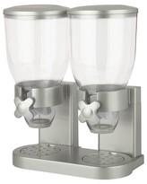 Zevro The Original Indispensable® Double Dry Food Dispenser - Silver