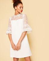Ted Baker Lace peplum dress