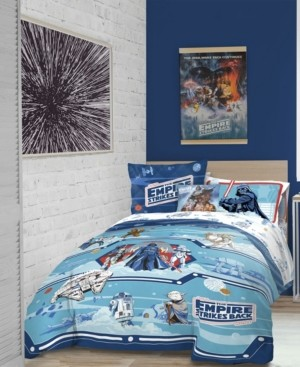 Star Wars 'Empire 40th Anniversary' 6pc Twin bed in a bag Bedding