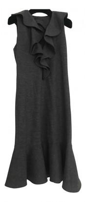Ralph Lauren Grey Wool Dresses