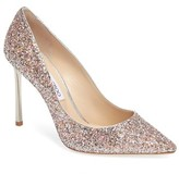 Jimmy Choo Women's Romy Glitter Pump