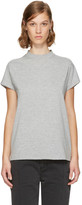 Won Hundred Grey Proof High Neck T-shirt
