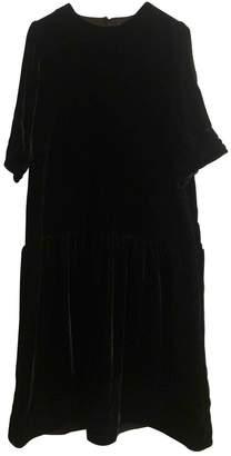 Arket Black Silk Dress for Women