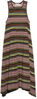 Mary Katrantzou Shwing jacquard-knit sleeveless dress