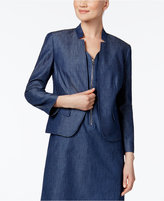 Nine West Chambray Blazer