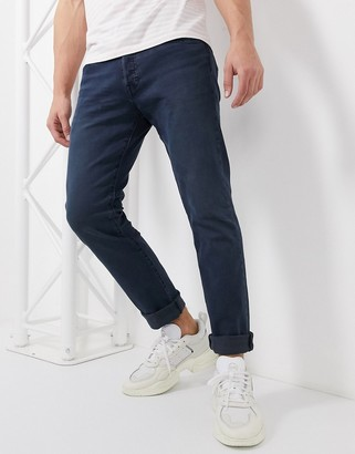 Levi's 501 slim tapered fit jeans in key west sand dark wash