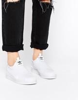 adidas Superstar Slip On White Sneakers