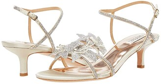 Badgley Mischka Gianna (Ivory) Women's Shoes
