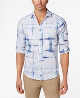 INC International Concepts Men's Crosshatch Shirt, Created for Macy's
