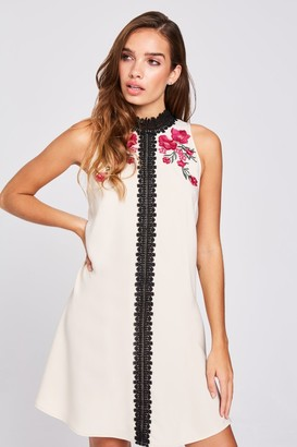 Little Mistress Ellis Buttercup Floral Shift Dress