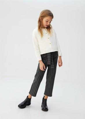 MANGO Organic cotton-blend cardigan