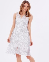 Whistles Marrion Double Layered Lace Dress