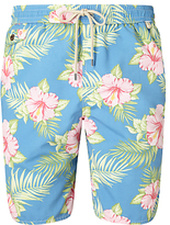 Polo Ralph Lauren Pastel Floral Swim Shorts, Blue
