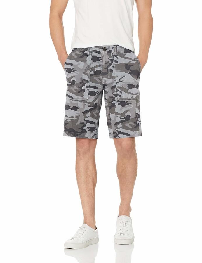 Brand Goodthreads Mens 11 Inseam Flat-Front Comfort Stretch Chino Short