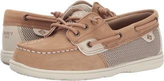 Sperry girls Shoresider Jr Crib Boat Shoe