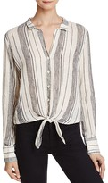 Bella Dahl Tie Front Button-Down Shirt