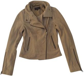 Mackage Beige Suede Jacket for Women