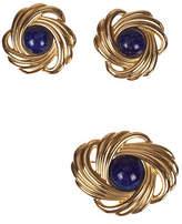 One Kings Lane Vintage Lanvin Retro Earrings & Pin Set