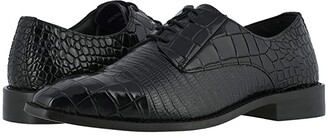 Stacy Adams Talarico Leather Sole Cap Toe Oxford (Black) Men's Shoes