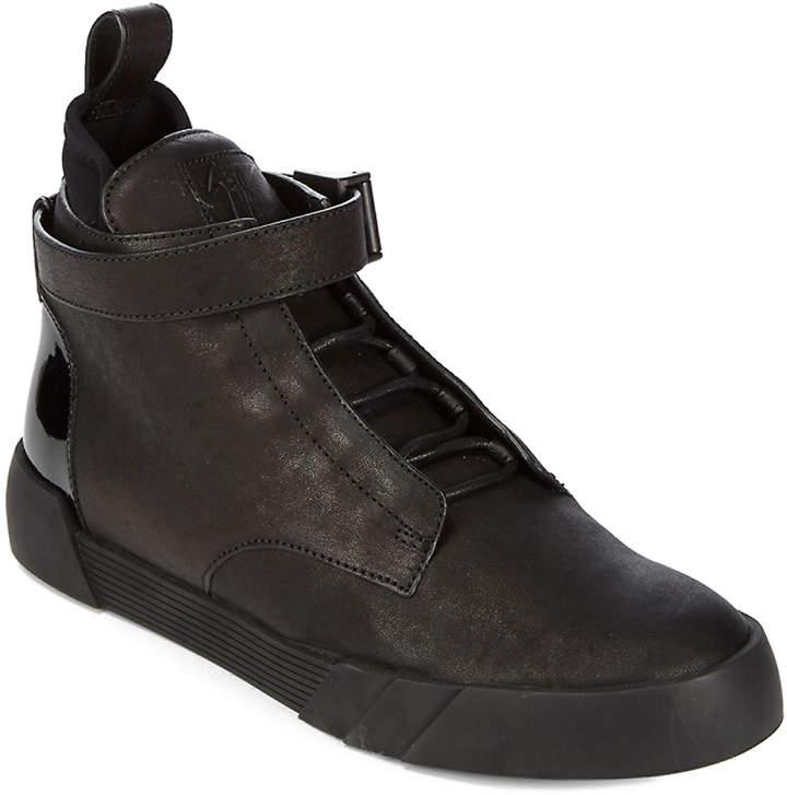 Giuseppe Zanotti Ankle Strap High-Top Sneaker
