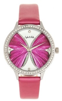 Sophie and Freda Rio Grande Genuine Leather Watches, 38mm