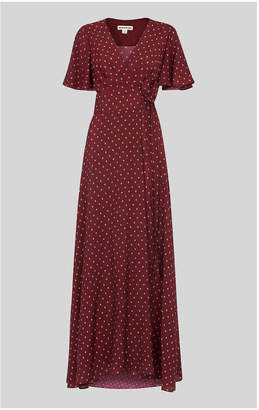Whistles Woodblock Print Wrap Dress