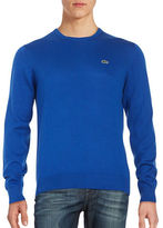 Lacoste Cotton Crewneck Sweater