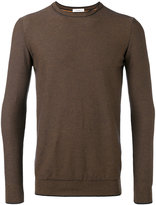 Paolo Pecora slit detail jumper - men - Cotton - S