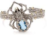 Alexis Bittar Swarovski Crystal Spider Cuff
