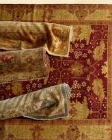 Neiman Marcus Blue Darcy Oushak Rug, 10' x 14'