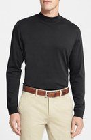 Cutter & Buck 'Belfair' Long Sleeve Mock Neck Pima Cotton T-Shirt
