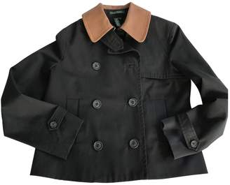 Lauren Ralph Lauren Black Cotton Coat for Women