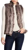 Bagatelle Knitted Faux Fur Vest