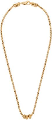 Emanuele Bicocchi Gold Tubular Chain Necklace
