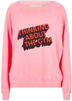 Wildfox Couture Thinking About The Gym Sweatshirt