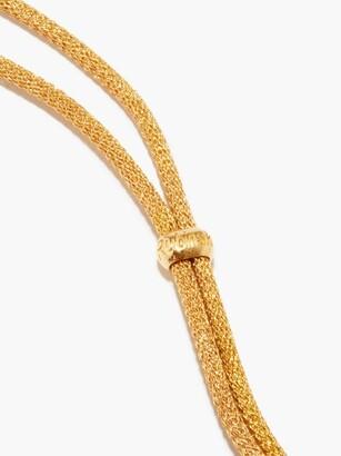 LAUREN RUBINSKI Love Enamel & 9kt Gold Necklace - Yellow Multi