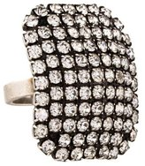 Dannijo Crystal Embellished Cocktail Ring