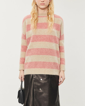 Brunello Cucinelli Striped knitted jumper