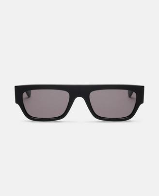 Stella McCartney monogram black square sunglasses
