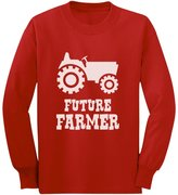 TeeStars Future Farmer - Gift For Farmers Kids - Cute Unisex Long sleeve kids T-Shirt